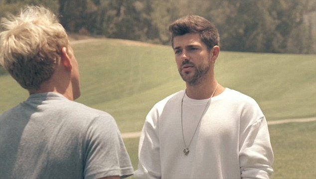 Knows him well: Jamie's close pal Alex Mytton sees that Jamie still has feelings for Jess and advises him to break off his relations with brunette beauty Nas