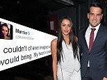 Mandatory Credit: Photo by Can Nguyen/REX Shutterstock (4914454am)\n Marnie Simpson and Ricky Rayment\n RUComingOut.com summer party, Royal Vauxhall Tavern, London, Britain - 23 Jul 2015\n \n