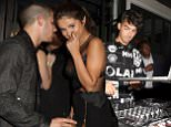 WEST HOLLYWOOD, CA - AUGUST 30:  (L-R) Nick Jonas, Selena Gomez and Joe Jonas attend Republic Records 2015 VMA after party at Ysabel on August 30, 2015 in West Hollywood, California.  (Photo by Rachel Murray/Getty Images for Republic Records)