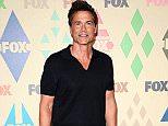 Mandatory Credit: Photo by Startraks Photo/REX Shutterstock (4930489em).. Rob Lowe.. TCA Fox Party, Los Angeles, America - 06 Aug 2015.. FOX Tca Summer All Star Party