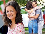 """08/31/15 NYC - Katie Holmes behind the scenes looking at the camera screen as she is in her first directorial debut for her film, """"All We Had"""" currently filming in New York CIty on Monday August 31st, 2015.  \n\nPictured: Katie Holmes\nRef: SPL1113622  310815  \nPicture by: Luis Yllanes / Splash News\n\nSplash News and Pictures\nLos Angeles: 310-821-2666\nNew York: 212-619-2666\nLondon: 870-934-2666\nphotodesk@splashnews.com\n"""