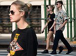 Georgia May Jagger and boyfriend Josh McLellan go shopping in Soho, New York City. \n\nPictured: Georgia May Jagger, Josh McLellan\nRef: SPL1113574  310815  \nPicture by: Splash News\n\nSplash News and Pictures\nLos Angeles: 310-821-2666\nNew York: 212-619-2666\nLondon: 870-934-2666\nphotodesk@splashnews.com\n