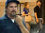 New York, NY - Actor Ethan Hawke and his daughter Maya Thurman-Hawke go for Saturday night stroll in the West Village area. The duo met up with a few friends along the way and had a chat before returning home.\nAKM-GSI      August  29, 2015\nTo License These Photos, Please Contact :\nSteve Ginsburg\n(310) 505-8447\n(323) 423-9397\nsteve@akmgsi.com\nsales@akmgsi.com\nor\nMaria Buda\n(917) 242-1505\nmbuda@akmgsi.com\nginsburgspalyinc@gmail.com