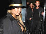 Chrissy Teigen arrives at Craigs with John Legend for the second night in a row this week.\n\nPictured: Chrissy Teigen\nRef: SPL1113716  310815  \nPicture by: MONEY$HOT / Splash News\n\nSplash News and Pictures\nLos Angeles: 310-821-2666\nNew York: 212-619-2666\nLondon: 870-934-2666\nphotodesk@splashnews.com\n