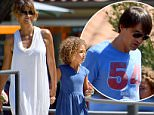 Halle Berry and husband Olivier Martinez spend Sunday with their children at the Malibu Playground\nFeaturing: Halle Berry, Nahla Berry, Nahla Aubry\nWhere: Los Angeles, California, United States\nWhen: 30 Aug 2015\nCredit: WENN.com\n**Not available for publication in France**