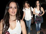Rachel Bilson and a friend leave Ricardo Montalban Theatre in Hollywood\nFeaturing: Rachel Bilson\nWhere: Los Angeles, California, United States\nWhen: 30 Aug 2015\nCredit: 3rd Eye/WENN.COM