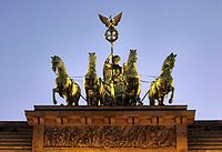 Brandenburg gate sunset quadriga.jpg