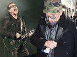 Mandatory Credit: Photo by Owen Sweeney/REX (1350879ai)  U2 - Bono  U2 in concert at M&T Bank Stadium, Baltimore, America - 22 Jun 2011