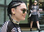 Mandatory Credit: Photo by Startraks Photo/REX Shutterstock (5036488k)  Jessie J  Jessie J out and about, New York, America - 03 Sep 2015