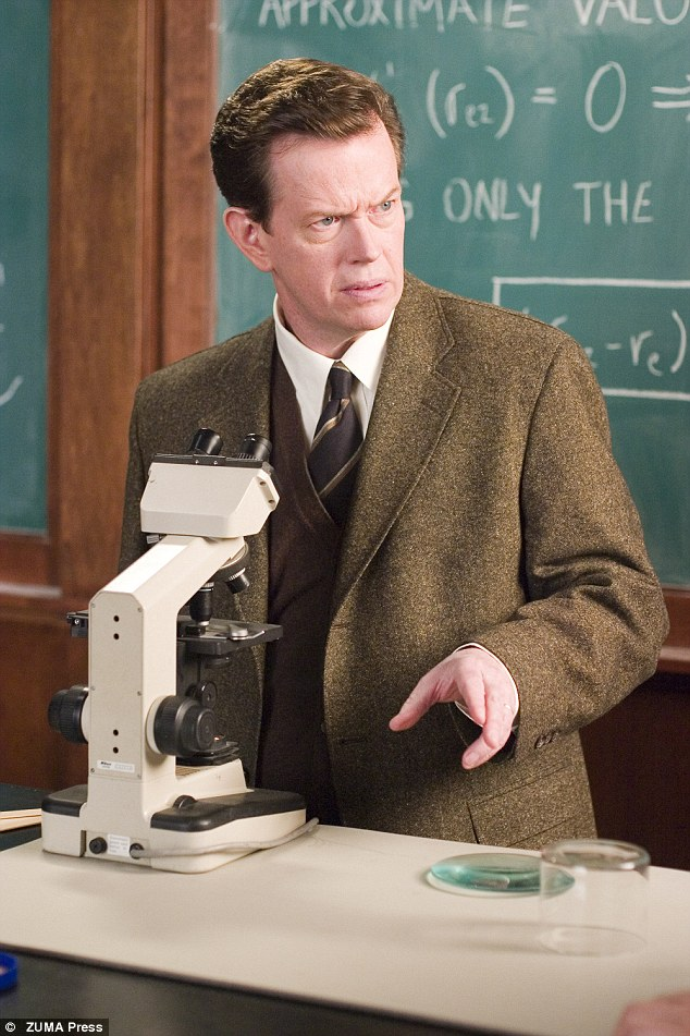 Dylan Baker is pictured here playing Dr Curt Connors in Spider-Man 3 in the 2007 movie