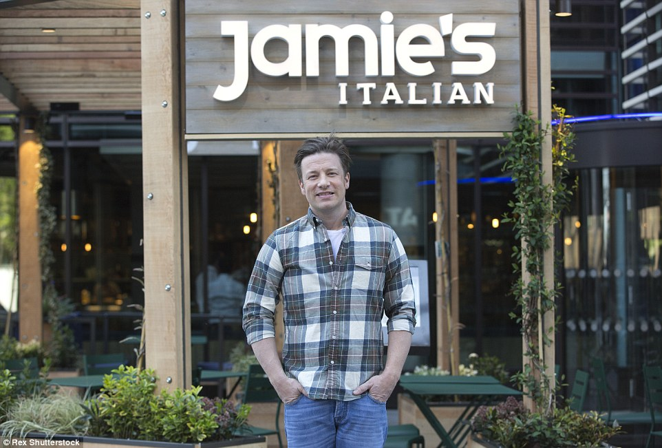 Success:Oliver found fame through the television series The Naked Chef in 1999 and has been a regular on Britain's screens since. He has sold more than 37million cookery books and operates restaurant chain Jamie's Italian, while his wife runs children's clothing line Little Bird
