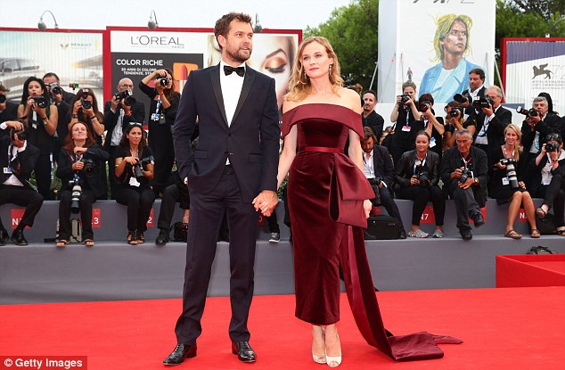 A run for their money: Joshua and Diane stole the spotlight from newlyweds Amber Heard and Johnny Depp