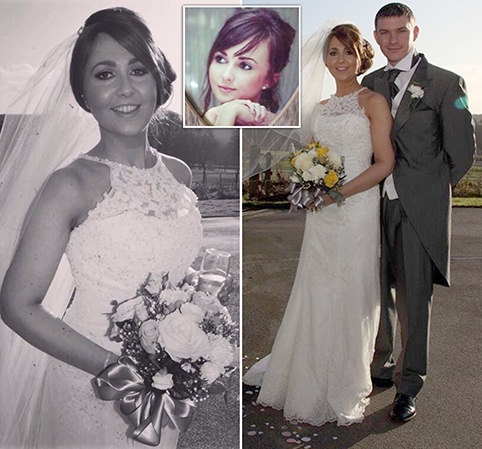 Newlywed, 25, dies from cervical cancer after visiting her GP TEN times