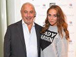 Sir Philip Green and Daughter Chloe Green attend the launch party for the Lady Garden Campaign held at TOPSHOP Oxford Circus on Thursday 3rd September 2015 Photo by Dave Benett