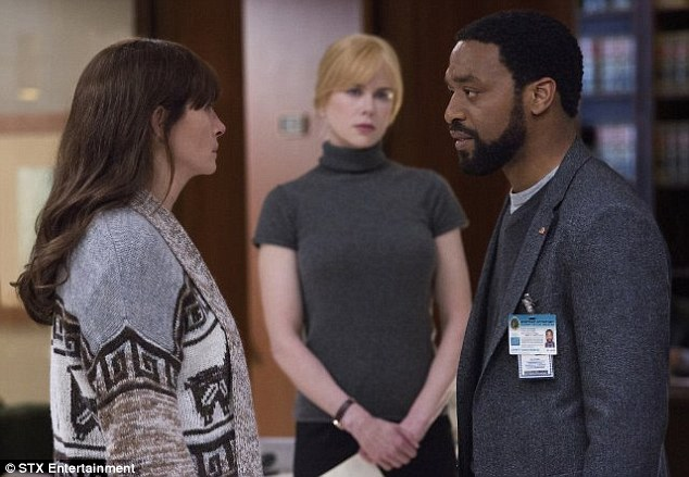 Cold case gets heat: Secret in Their Eyes hits US theaters November 20 and UK theaters March 4, and it stars Nicole Kidman (M), Chiwetel Ejiofor (R), and Dean Norris