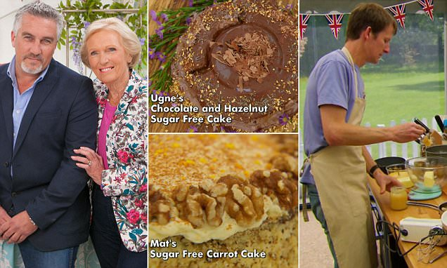 BBC's The Great British Bake Off 'sugar-free' FARCE