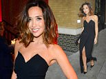 Picture Shows: Myleene Klass  September 03, 2015    Myleene Klass attends the 'Ricki and The Flash' film screening at the Ham Yard Hotel in London, England.    The radio presenter was dressed to the nines for her night out in a black strapless gown with a thigh-high slit showcasing her classic pair of black Christian Louboutin pumpsa.    Non Exclusive  WORLDWIDE RIGHTS    Pictures by : FameFlynet UK © 2015  Tel : +44 (0)20 3551 5049  Email : info@fameflynet.uk.com