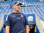 04/09/15 SCOTLAND TRAINING STADE DE FRANCE - PARIS Scotland head coach Vern Cotter