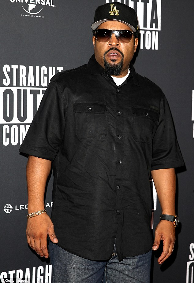 Yes he Kanye! Despite doubts surrounding Kanye West's chances of sitting in the White House's Oval Office in five years' time, he's got one firm supporter in fellow rapper and former NWA star, Ice Cube