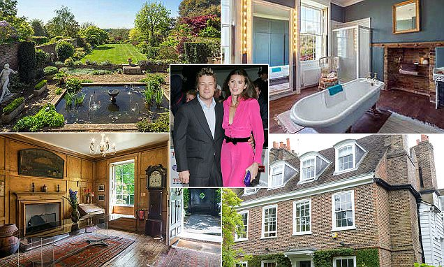 Jamie Oliver buys a £10M home in the heart of north London luvvie-land