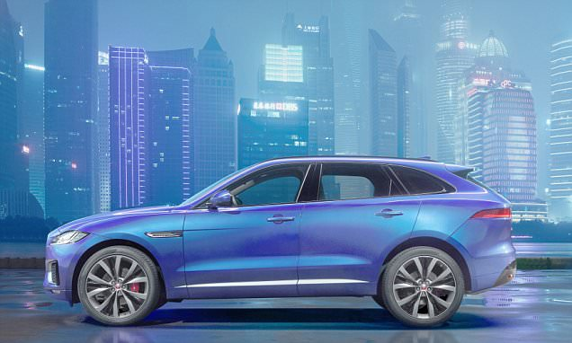 Jaguar unveils £35k crossover 4x4 F-PACE as it hopes to score with 'Jag Dads'
