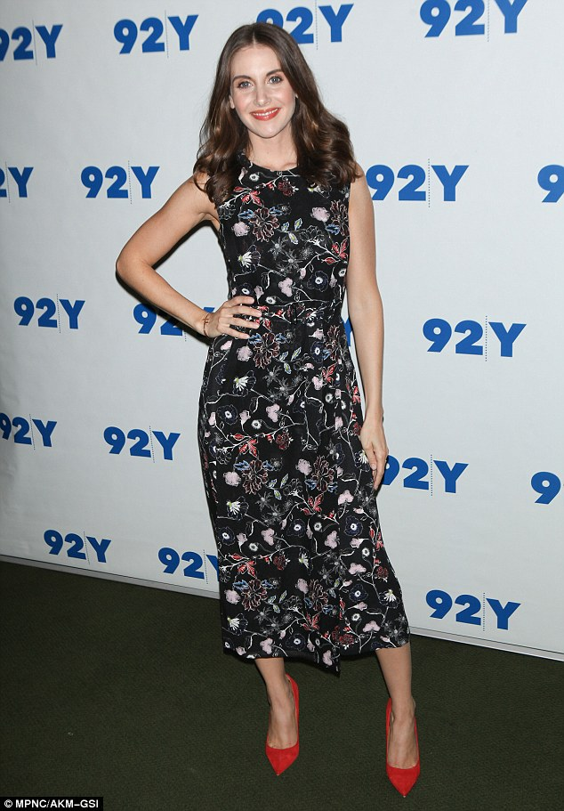 Easy and fabulous:Sleeping with Other People star Alison Brie, 32, was determined to impress on Thursday night in New York City