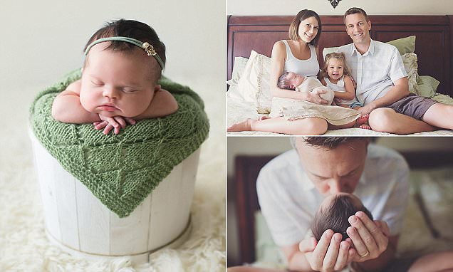 Florida parents with baby daughter born with brain cancer and Down syndrome