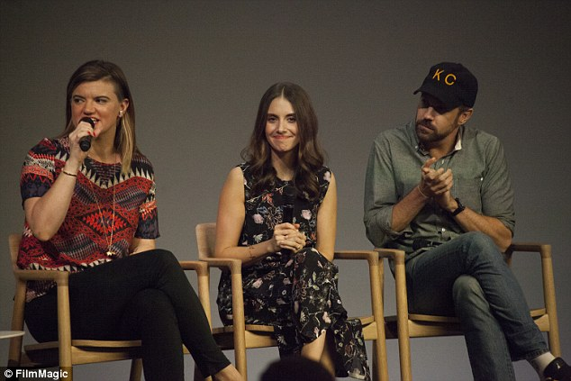 Props to the director:Leslye Headland was also present to field questions about their new film Sleeping with Other People