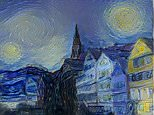 """""""The Starry Night"""" by Vincent van Gogh, 1889"""