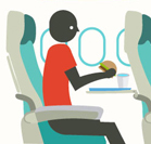 Revealed: Dirtiest areas of airplanes