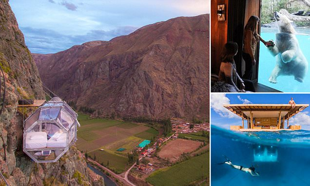 The most thrilling hotel room views revealed