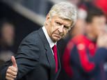 Steve Drew via Press Association Images Arsenal's manager Arsene Wenger gives a thumbs up before kick off