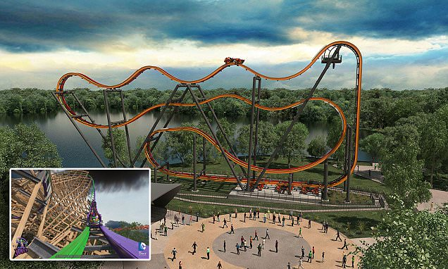 Six Flags theme park launches trailer for 2016's rides