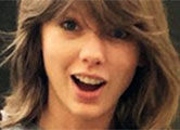 Taylor gets flowers from Kanye and 'signs on as VP'