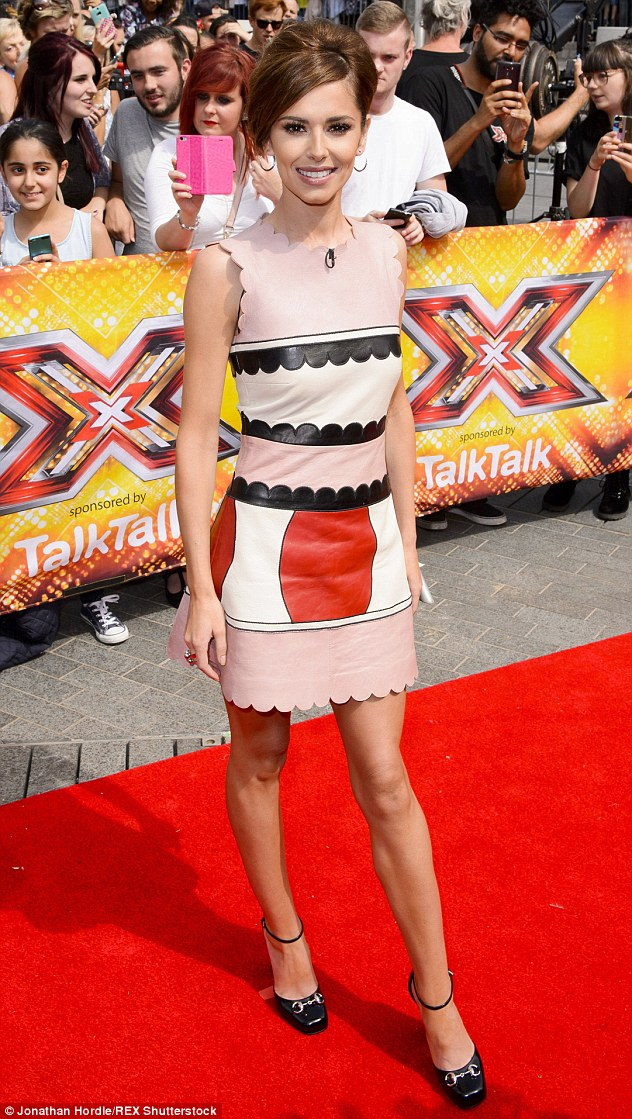 'Don't give a f**k what people think': The returning X Factor judge encouraged the youth of today to look beyond the media's perception of what makes a 'perfect body'