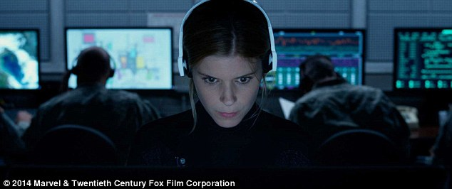 Disappointment: Fantastic Four disappointed at the box office when it opened in August; Kate starred as Invisible Woman