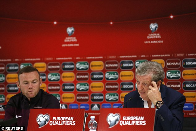 Skipper Rooney faced the media on Friday evening alongside manager Roy Hodgson ahead of qualifier