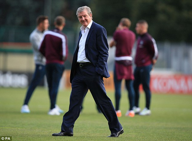 Hodgson recently joked that some of England's cricket team could have played against San Marino