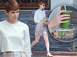 """Picture Shows: Kate Mara  September 03, 2015\n \n Actress Kate Mara is spotted leaving the Montage Hotel in Beverly Hills, California before stopping to pick up a healthy lunch at Melrose Place. \n \n Kate looked to be in good spirits despite her new film 'Fantastic Four' being the biggest superhero flop since """"Catwoman."""" \n \n Exclusive - All Round\n UK RIGHTS ONLY\n \n Pictures by : FameFlynet UK © 2015\n Tel : +44 (0)20 3551 5049\n Email : info@fameflynet.uk.com"""