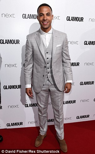 Marvin looks dapper at the  Glamour Magazine Women of the Year Awards in June