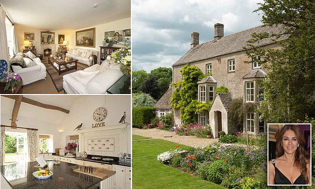 Liz Hurley sells her Cotswolds property for £9million