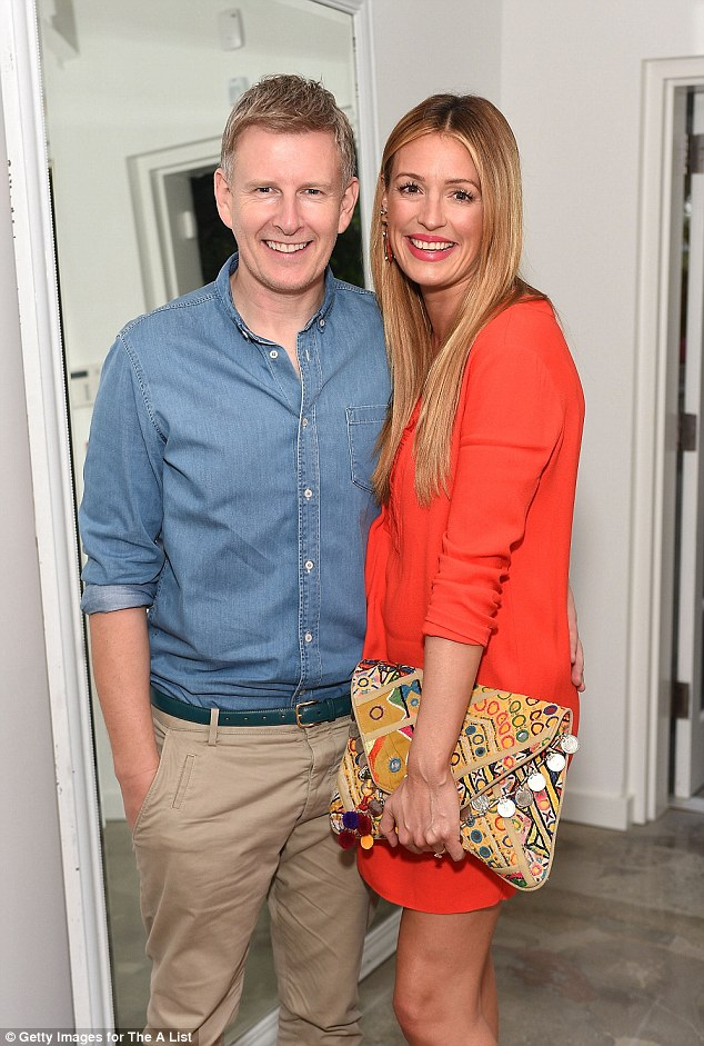 The secret's out: Last week, Cat and husband Patrick Kielty, 44, revealed they are expecting their first child together in 2016, after three years of marriage