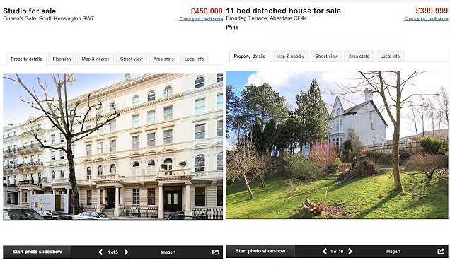 £12,000 for a metre of space in Kensington & Chelsea