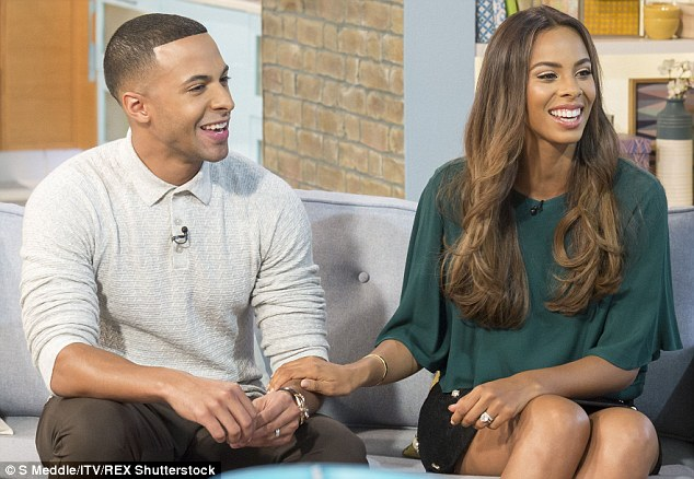 Marvin presents on much-loved ITV daytime show This Morning alongside wife Rochelle