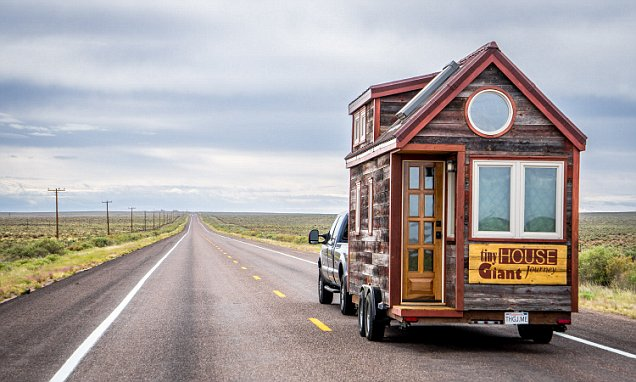 Could you live in a tiny home measuring only 125sqft and with a composting toilet?