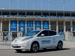 Nissan has taken over from Ford as the main motoring sponsor of the UEFA Champions League with a new four-year deal.  All-electric Leaf ? built in Britain at the firm?s Sunderland factory.