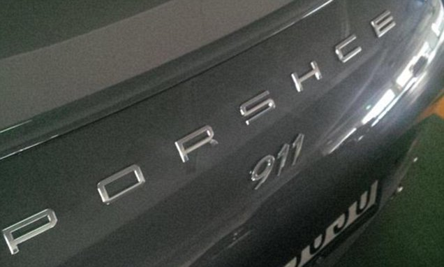 Porsche 911 owner is distraught after his car is renamed a PORSHCE!
