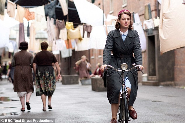 On the other side: For the BBC, Jessica was Jenny Lee in Call The Midwife