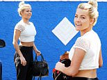 """Holywood, CA - Bubbly Witney Carson arrives to the """"Dancing With the Stars"""" practice facility for a day of preparation before the new season.\nAKM-GSI          September 3, 2015\n \n To License These Photos, Please Contact :\n \n Steve Ginsburg\n (310) 505-8447\n (323) 423-9397\n steve@akmgsi.com\n sales@akmgsi.com\n \n or\n \n Maria Buda\n (917) 242-1505\n mbuda@akmgsi.com\n ginsburgspalyinc@gmail.com"""