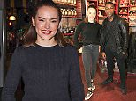 """Daisy Ridley and John Boyega at the Disney store in London for Star Wars: The Force Awakens toys, part of the global event called """"Force Friday"""", the release of new Star Wars toys and other merchandise of the new movie """"Star Wars: The Force Awakens"""". PRESS ASSOCIATION Photo. Picture date: Thursday September 3, 2015. See PA story SHOWBIZ StarWars. Photo credit should read: Jonathan Brady/PA Wire"""
